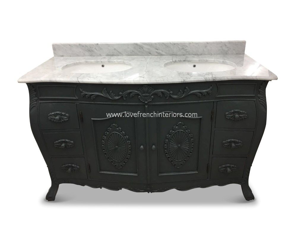 Double Vanity Unit Marble Top Vanity Ideas