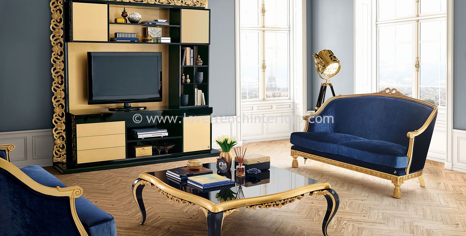 Capri square coffee table for P square living room