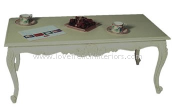 French Rectangular Coffee Table