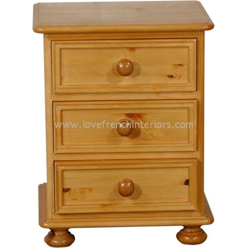 Juline Bespoke 3 Drawer Bedside 'A'