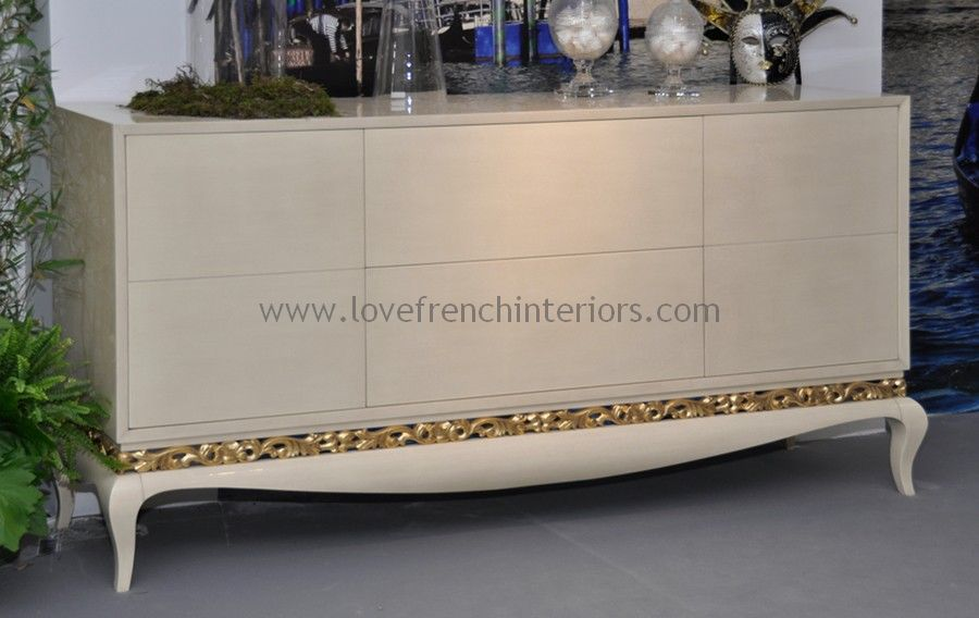 Luxus Sideboard with 2 Doors and 2 Drawers