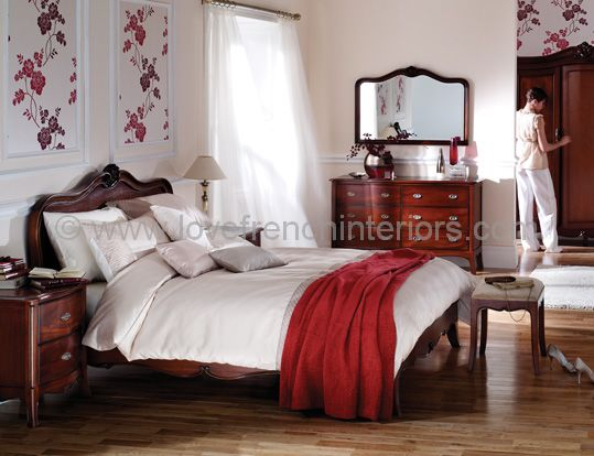 Paris Mahogany Bedroom Set