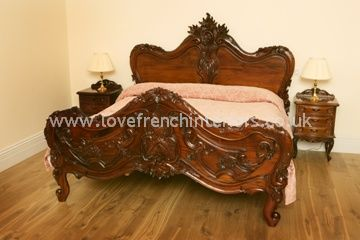 Baroque Carved Bed Kingsize
