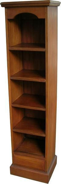 Bookcase or DVD Case in Mahogany