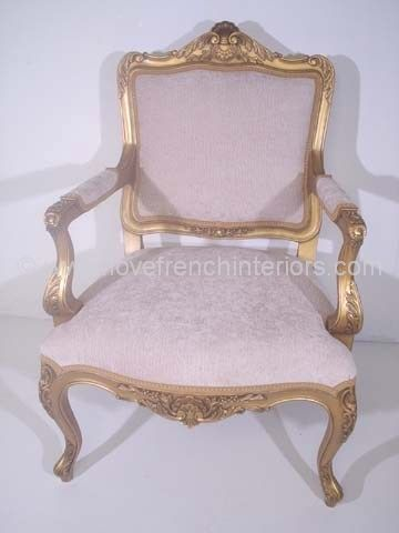 Edith French Salon Chair