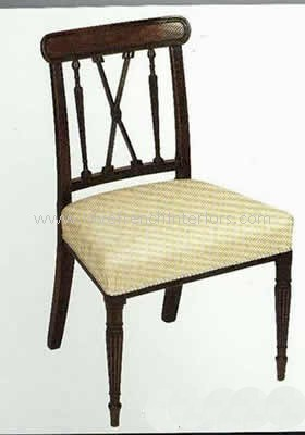 George III Dining Chair Arrow Back
