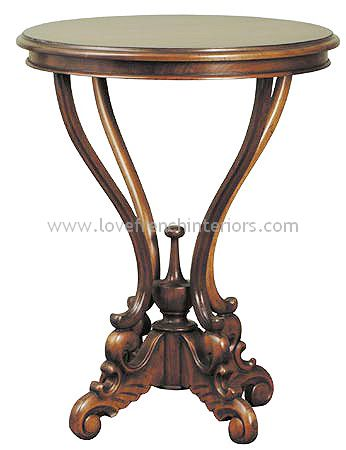 George III Serpentine Side Table