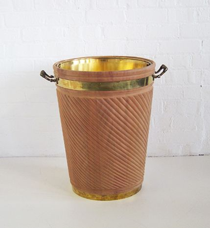 Georgian Irish Peat Bucket Large
