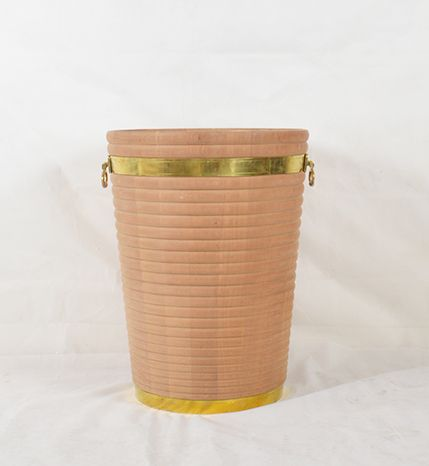 Georgian Irish Peat Bucket Large Horizontal Stripe