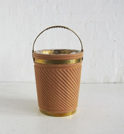 Georgian Irish Peat Bucket Small