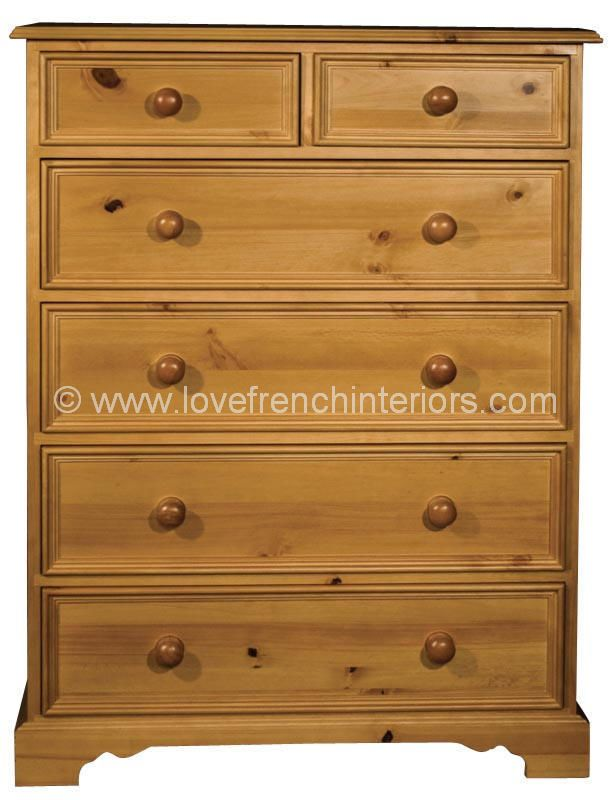 Juline Bespoke 2 over 4 Chest of 6 Drawers 'B'
