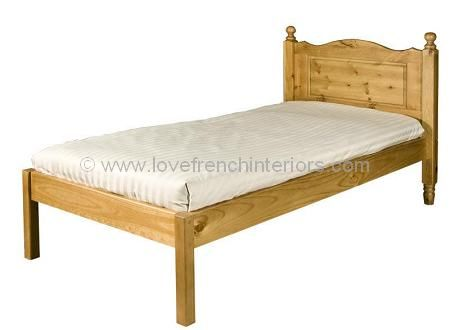 Juline Bespoke Eve Bed with Low Footend