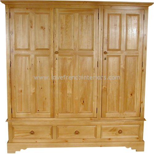 Juline Bespoke Triple Wardrobe 'B'