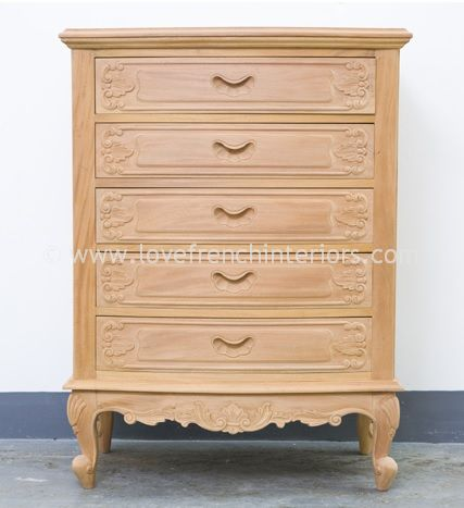 Louis Five Drawer Chest