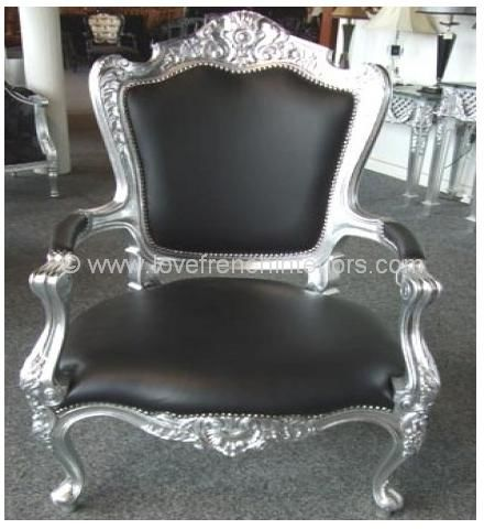 Louis High Back Armchair