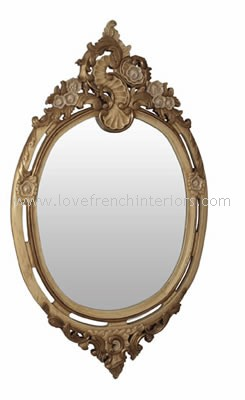 Louis Oval Bespoke Mirror