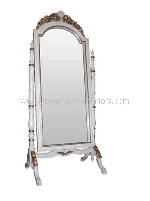 Louis XVI Large Cheval Bespoke Mirror