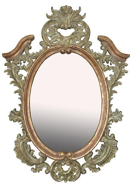 Lucy Carved Mirror