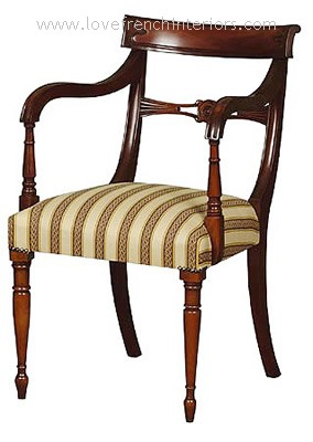 Regency Carver Chair