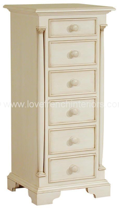 Roseline Six Drawer Tallboy