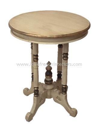 Round Side or Lamp Table