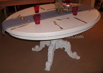 Victorian Oval Dining Table